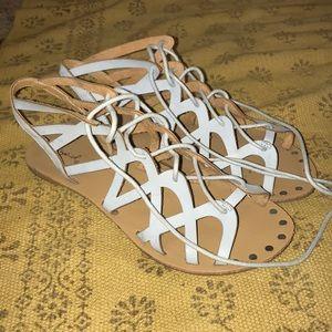 Qupid strappy sandals